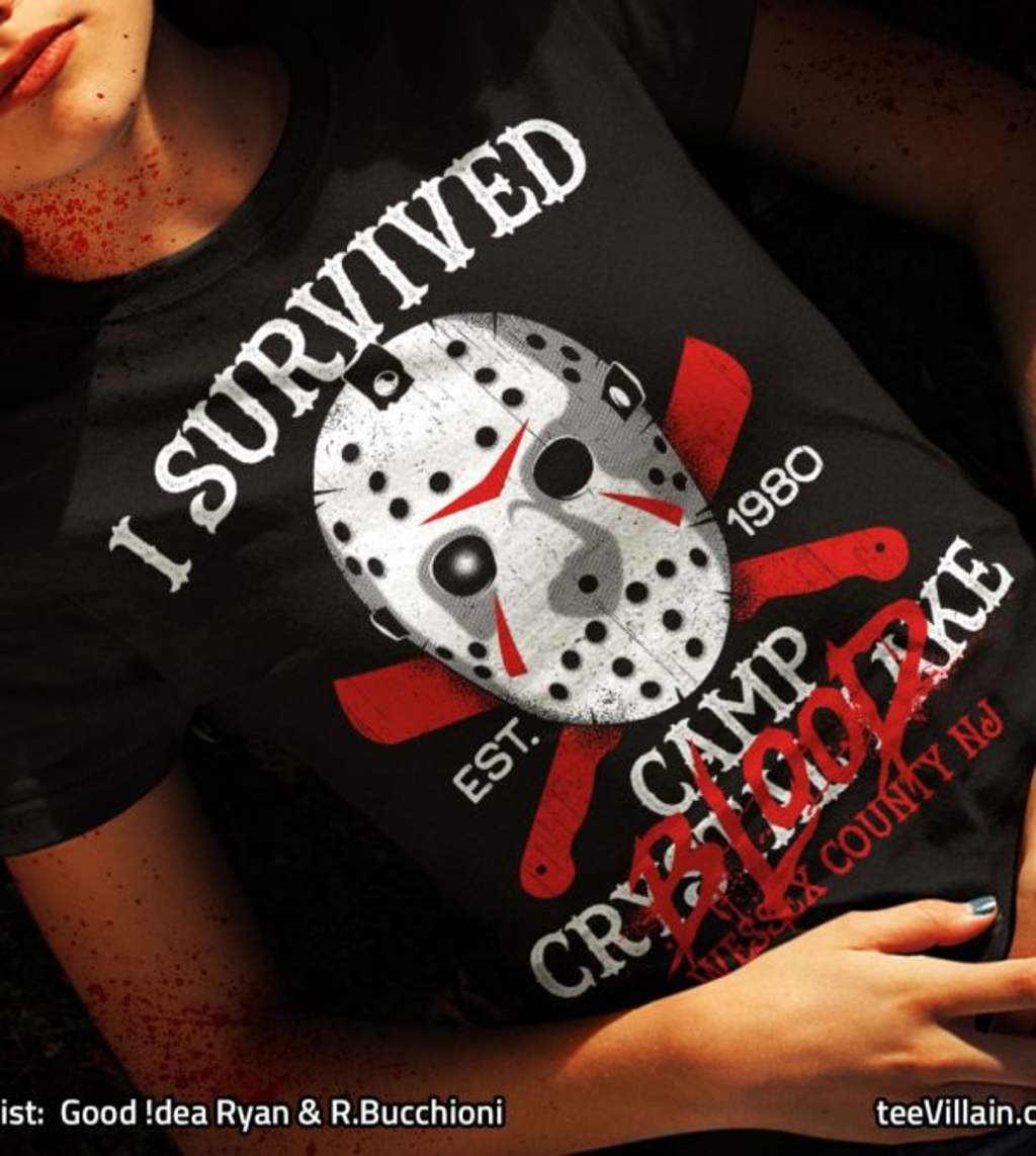 teeVillain: I survived Camp Blood