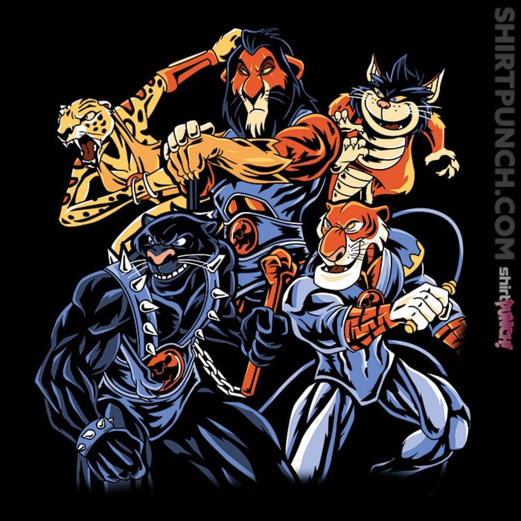 ShirtPunch: Terror Cats