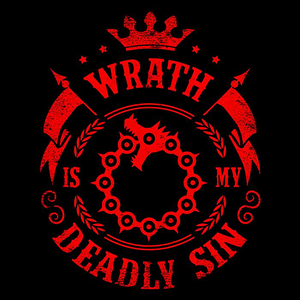 Once Upon a Tee: Wrath is My Sin