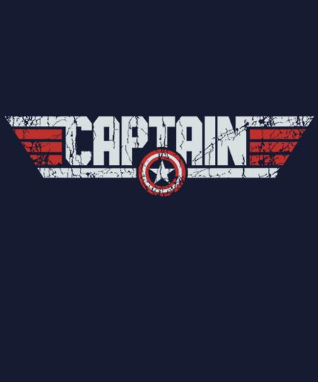 Qwertee: Top Captain