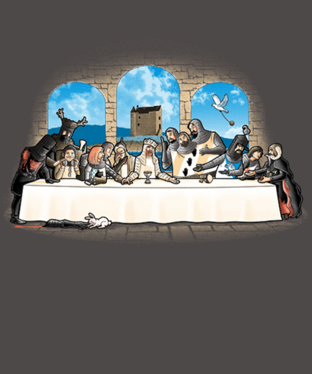 Qwertee: Holy Grail dinner