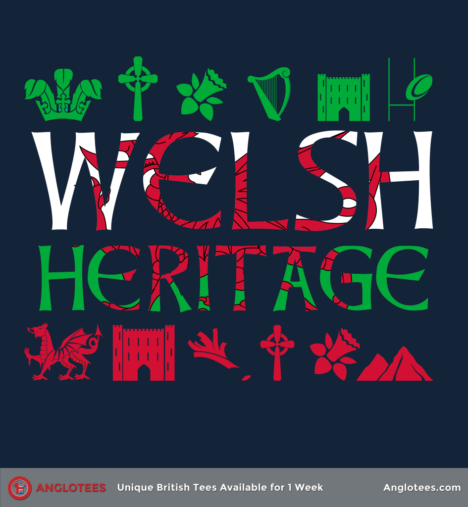 Anglotees: Welsh Heritage