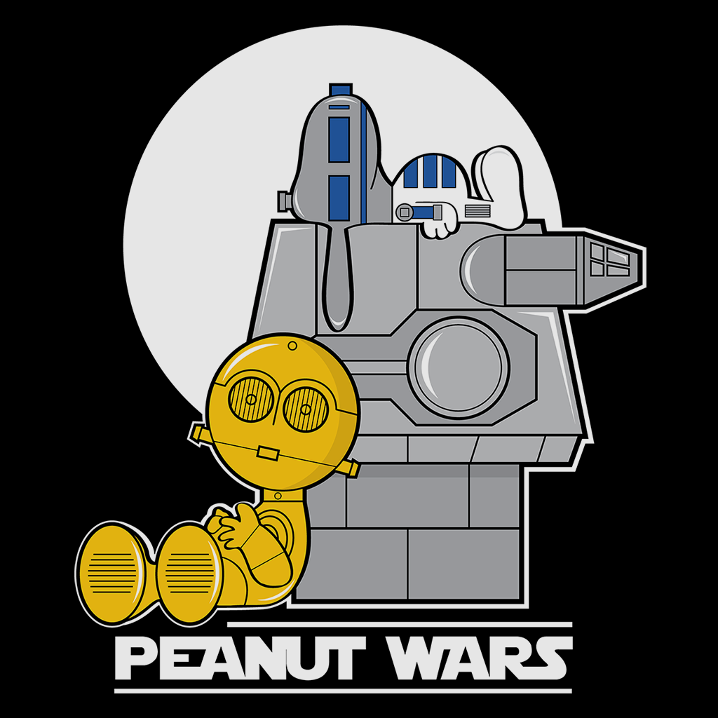Pop-Up Tee: Peanut Wars
