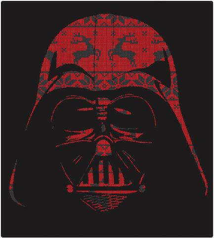 Shirt Battle: Reindeer Darth