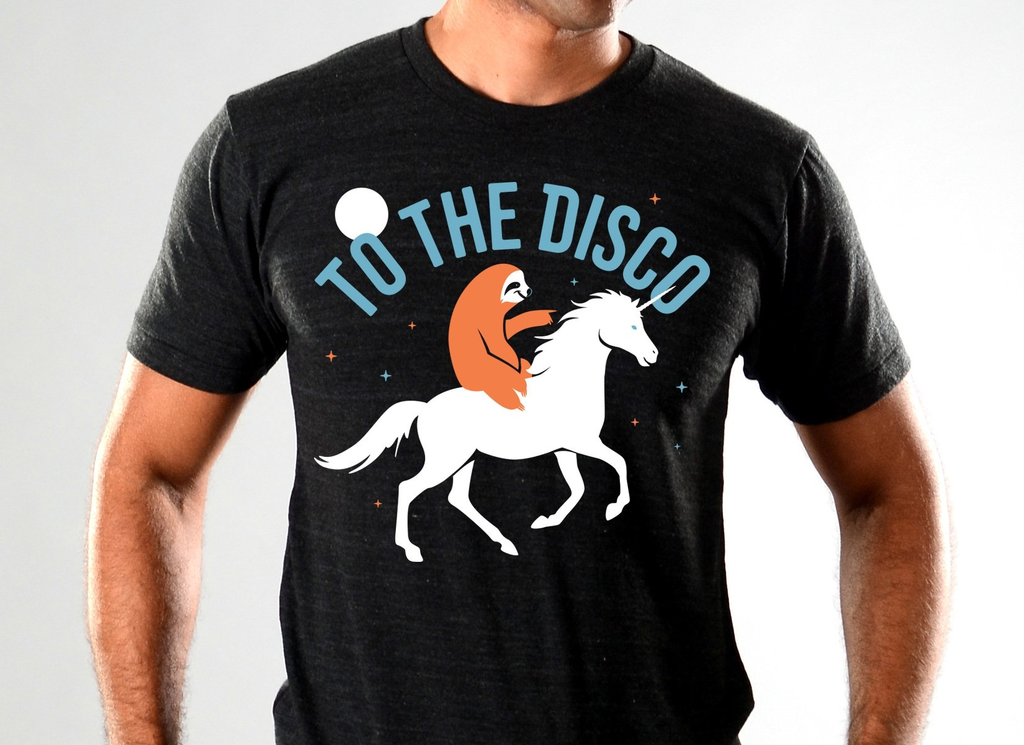 SnorgTees: To The Disco Limited Edition Tri-Blend