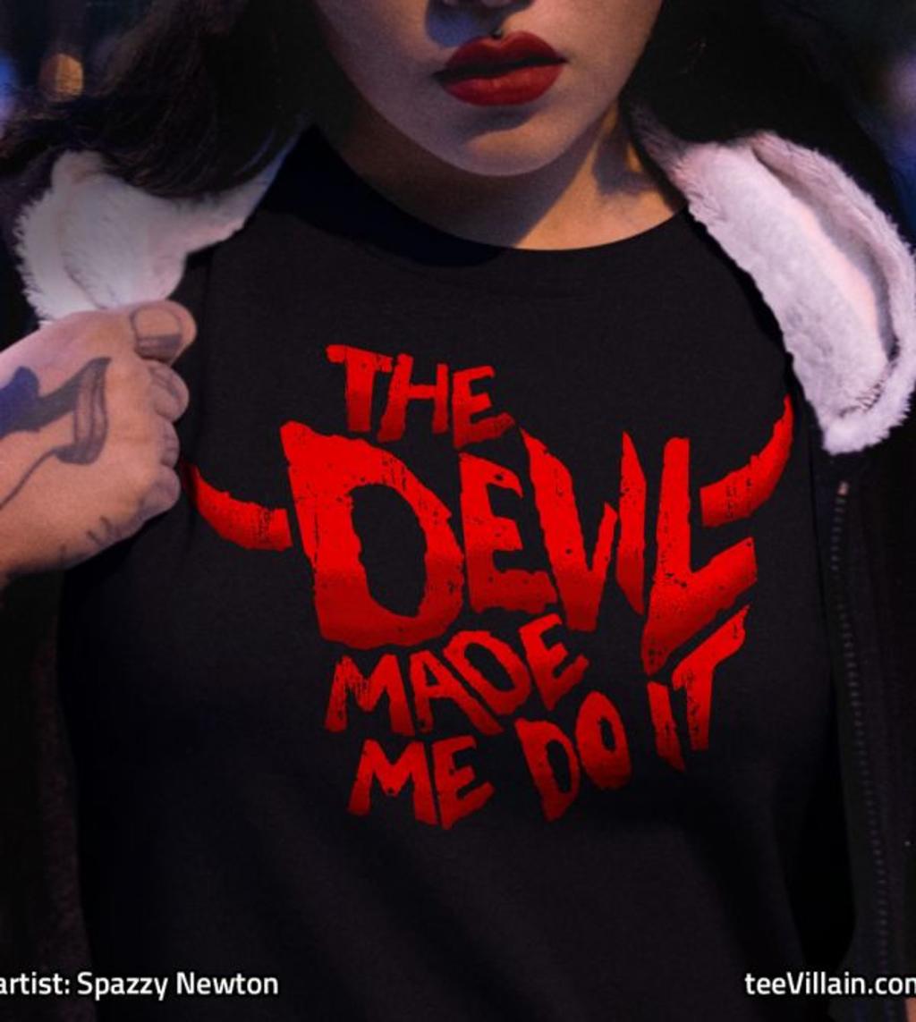 teeVillain: The Devil Made Me