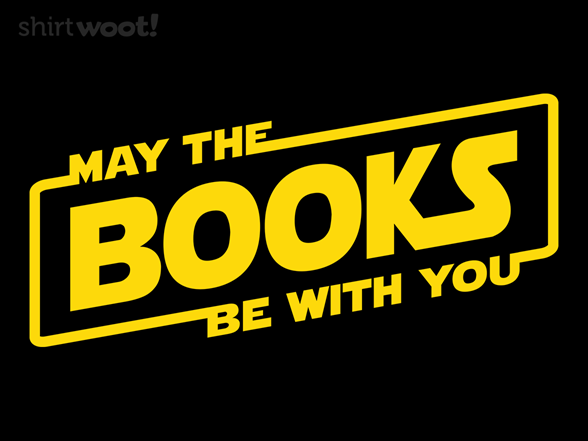 Woot!: May The Books Be With You