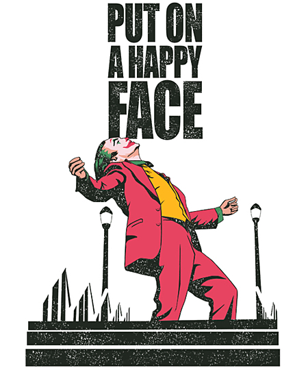 Qwertee: Put on a happy face