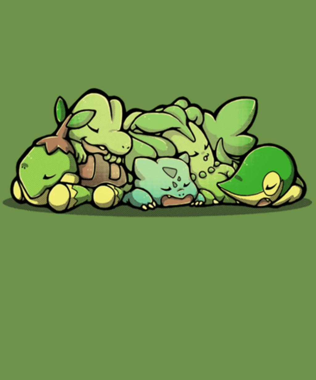 Qwertee: Grass Sleepers