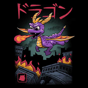 Once Upon a Tee: Dragon Kaiju Attack