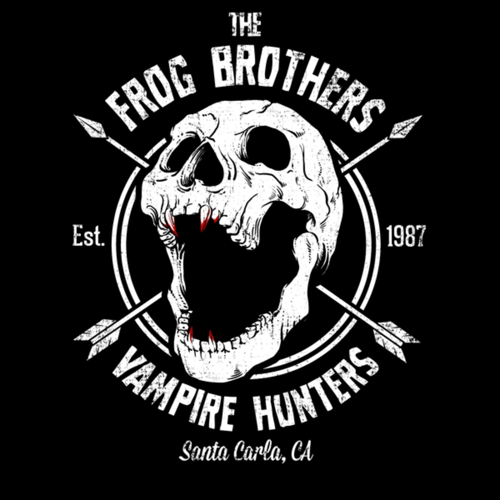 NeatoShop: Frog Bros Vampire Hunters