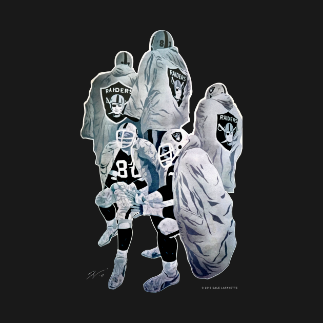 TeePublic: Oakland Raiders Mural – Deej Originals