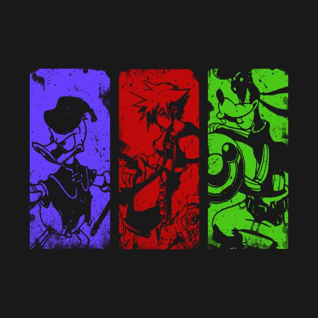 TeePublic: Kingdom of Three T-Shirt