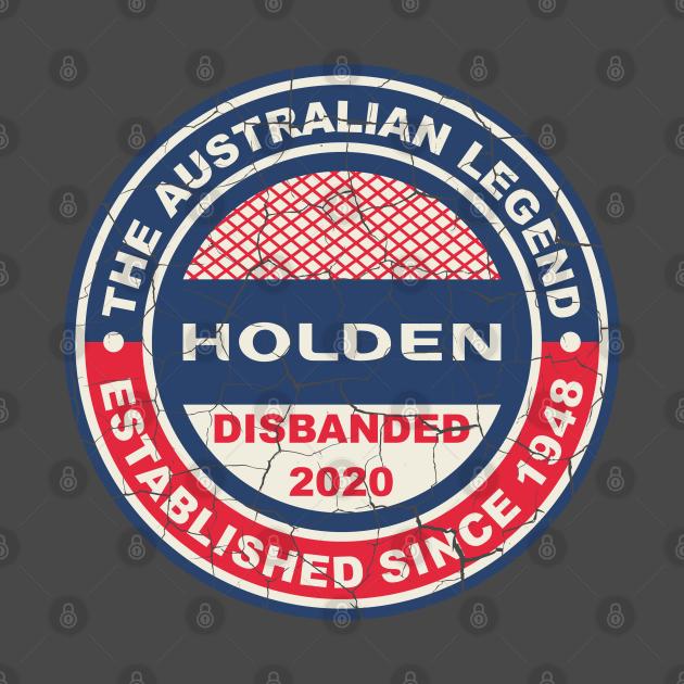 TeePublic: Holden The Australian Legend
