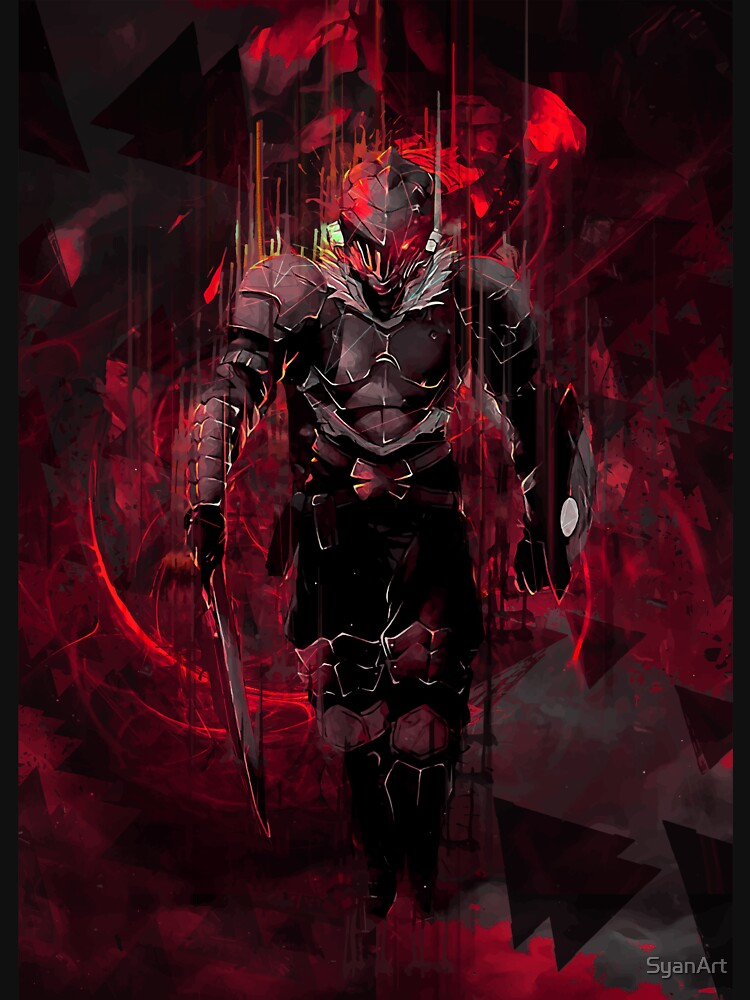 RedBubble: Goblin Slayer Red eye artwork
