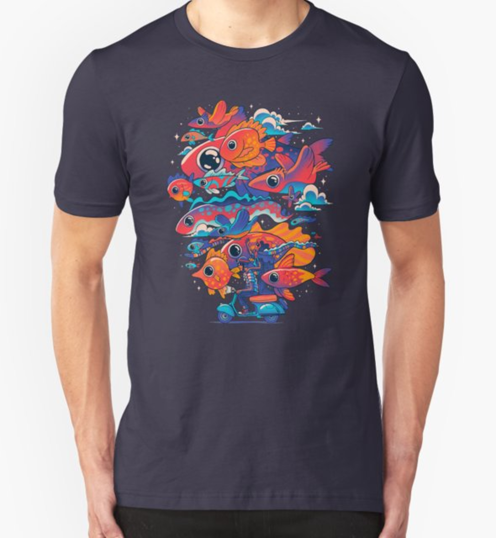 RedBubble: Let's get Lost