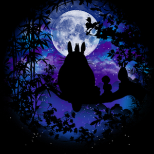 Qwertee: Under the moon