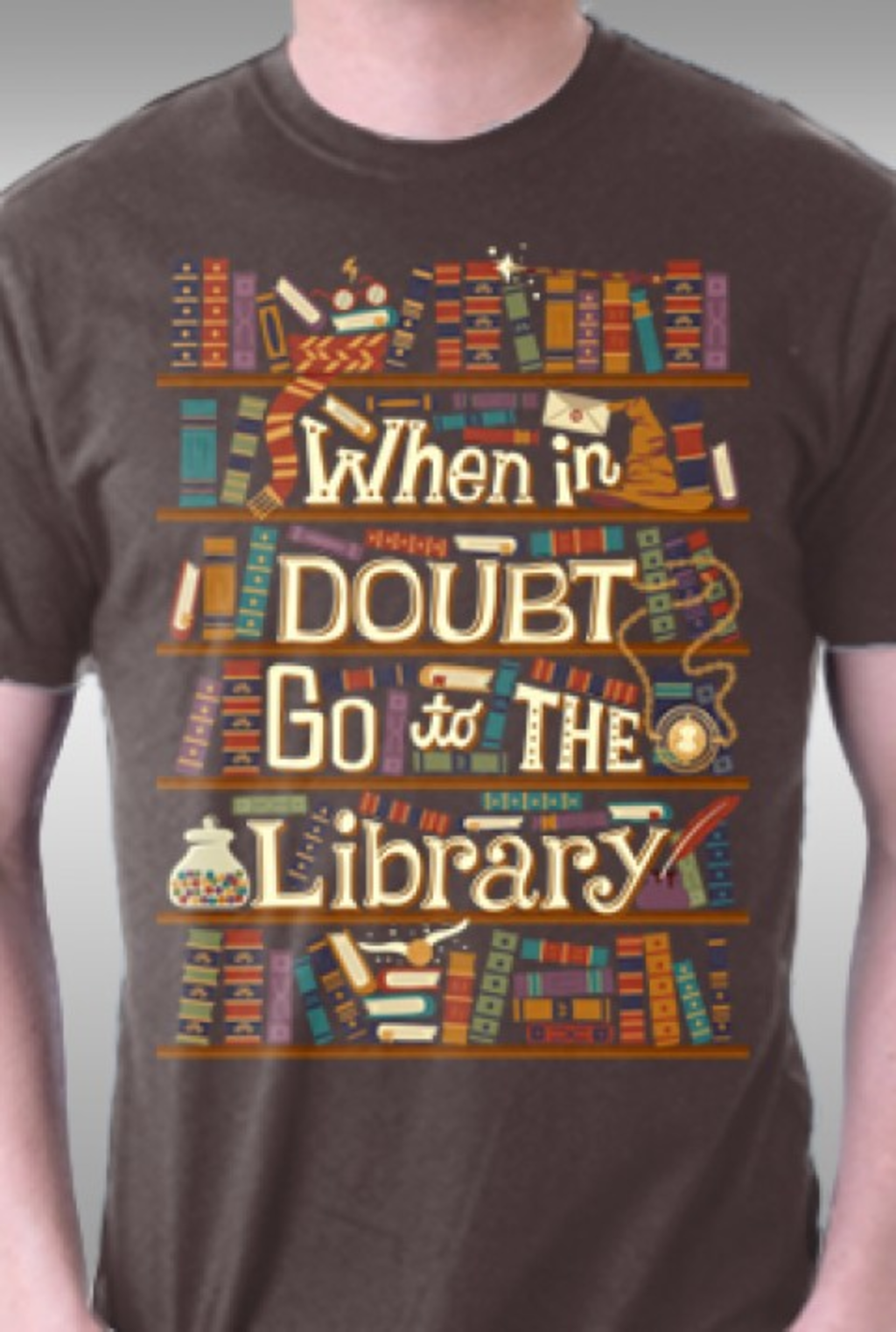 TeeFury: Go To The Library