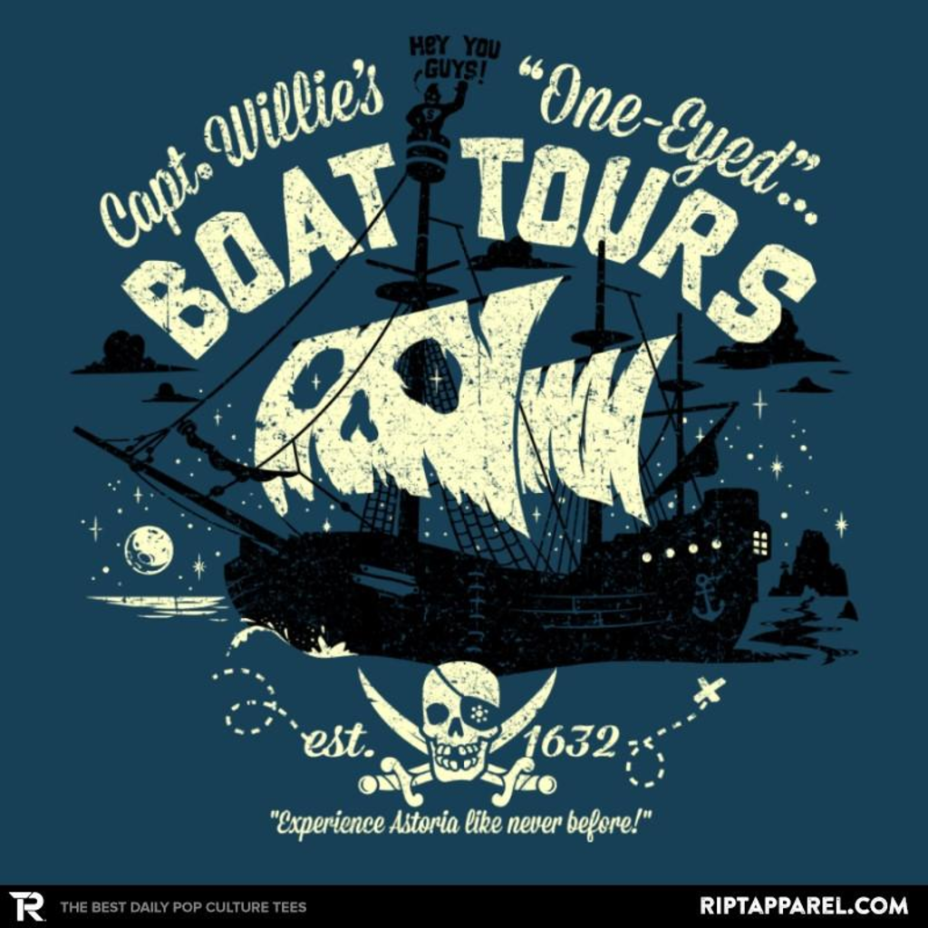 Ript: One-Eyed Boat Tours Reprint