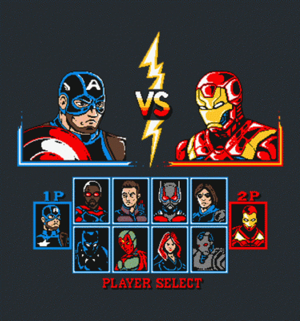 BustedTees: Civil Warriors