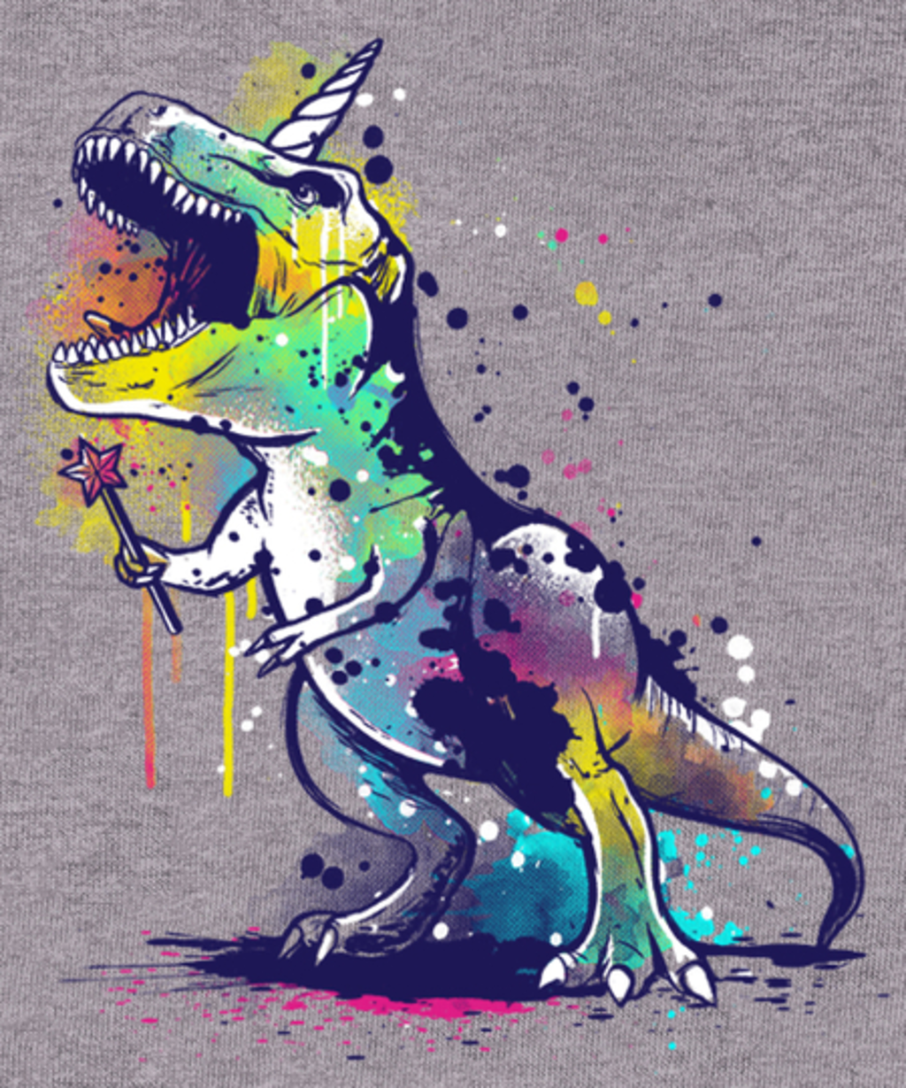 Qwertee: Unicornosaurus rex