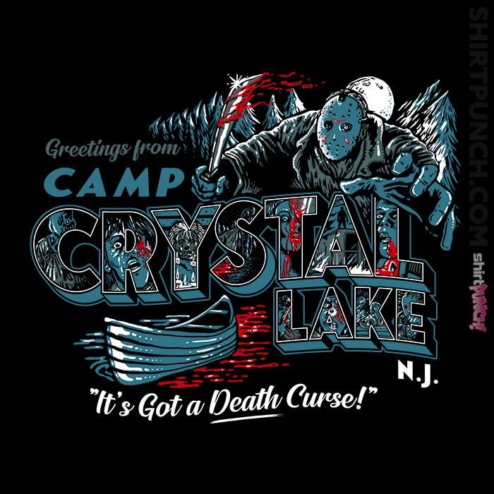 ShirtPunch: Greetings From Camp Crystal Lake