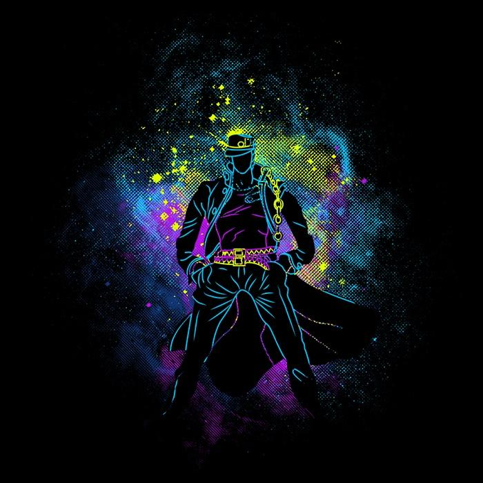 Once Upon a Tee: Jotaro Art