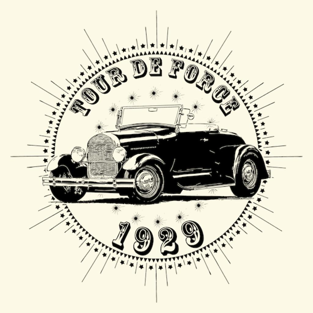 NeatoShop: Vintage Classic Car 1929 Tour De Force For