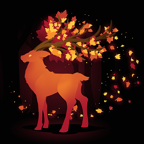 TeeTurtle: Spirit of Autumn