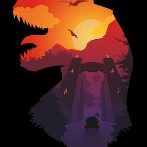 Qwertee: Jurassic Dawn