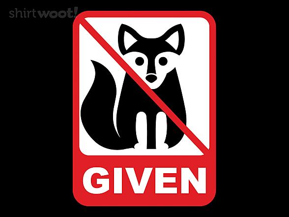 Woot!: No Fox Given At All Times