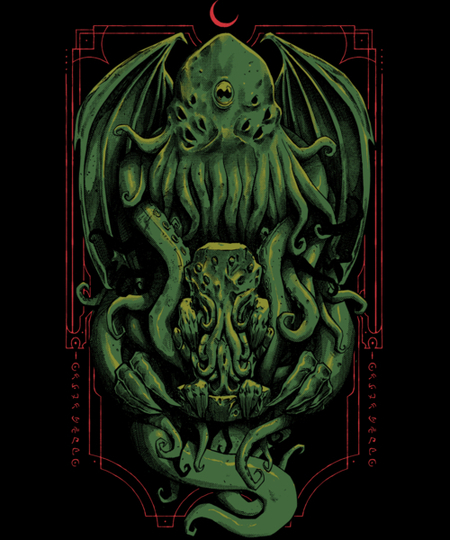 Qwertee: The Great Old One