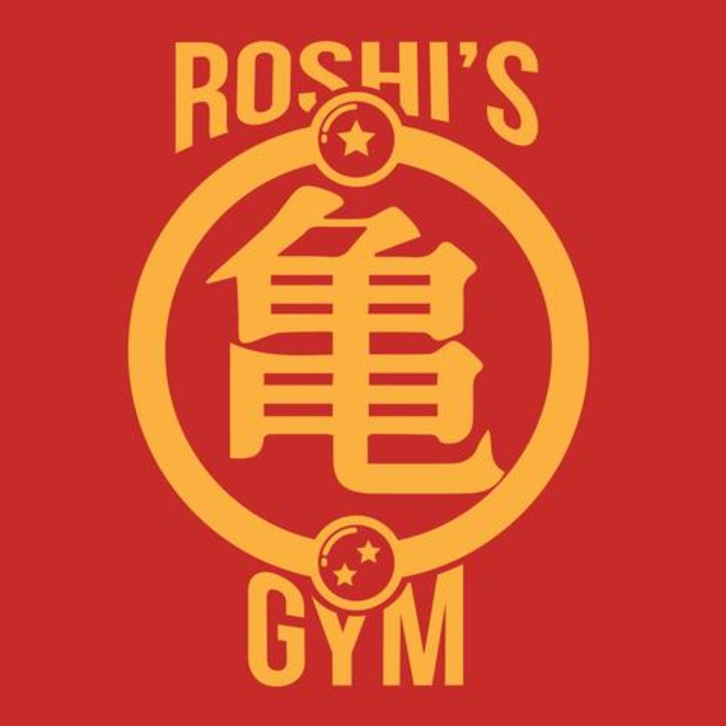 FandomShirts: Roshi's Gym