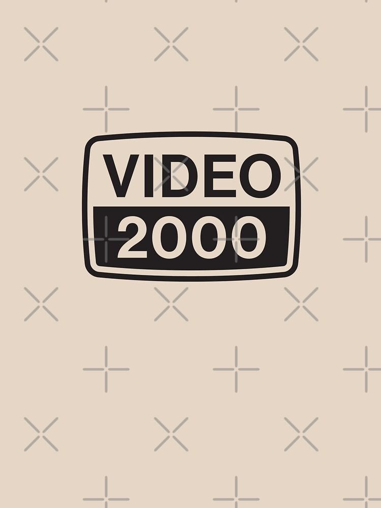 RedBubble: Video 2000 VCR