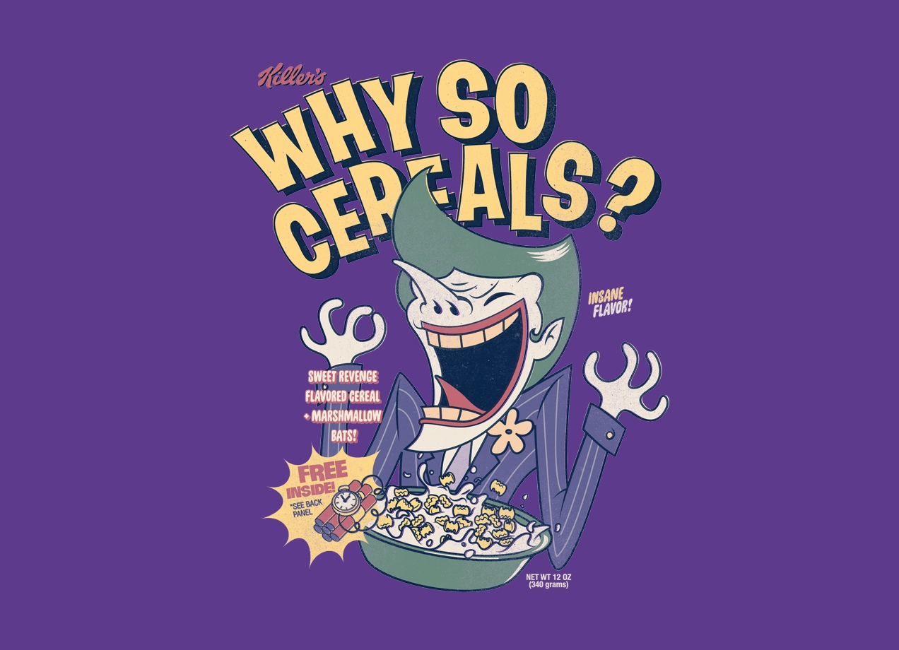 Threadless: Why So Cereals?