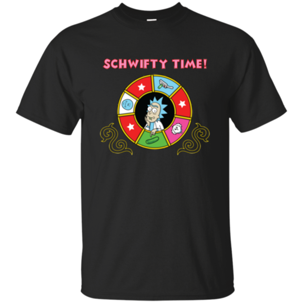 Pop-Up Tee: Schwifty Time