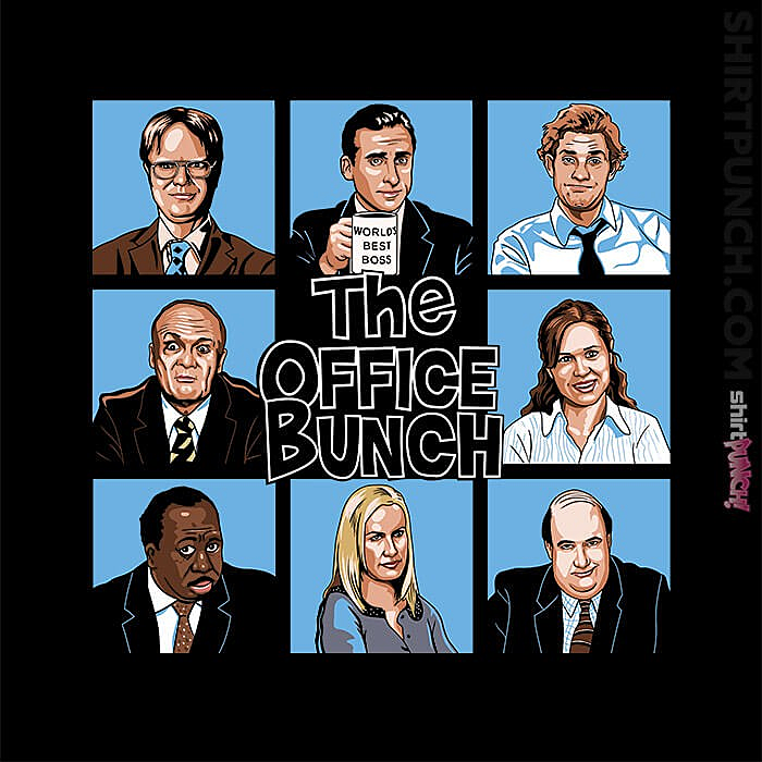 ShirtPunch: The Office Bunch