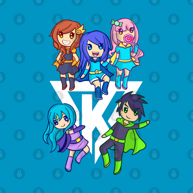 TeePublic: Funneh and the Krew Cartoon