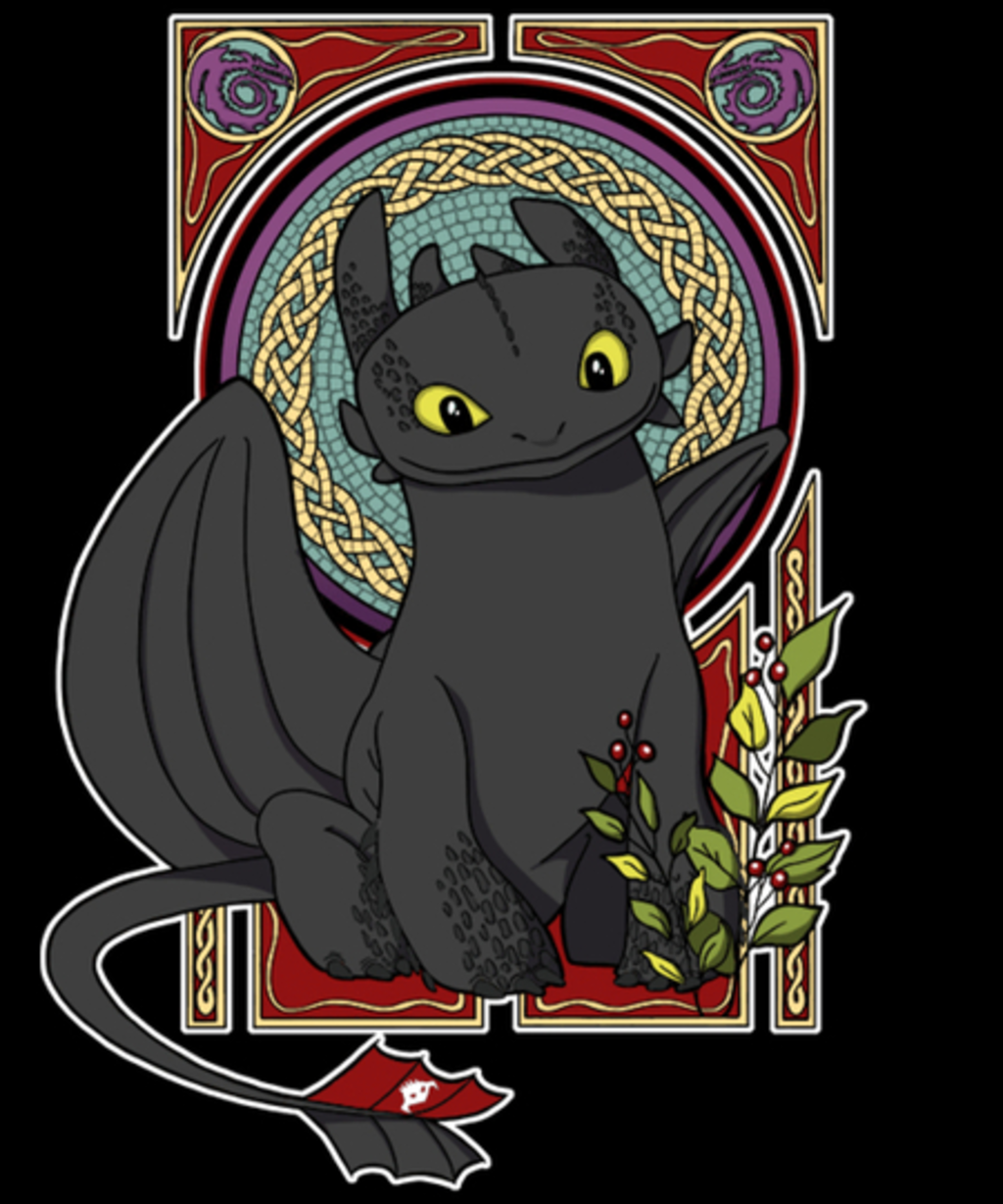 Qwertee: Classic Toothless