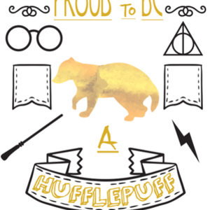 Qwertee: Proud to be a Hufflepuff