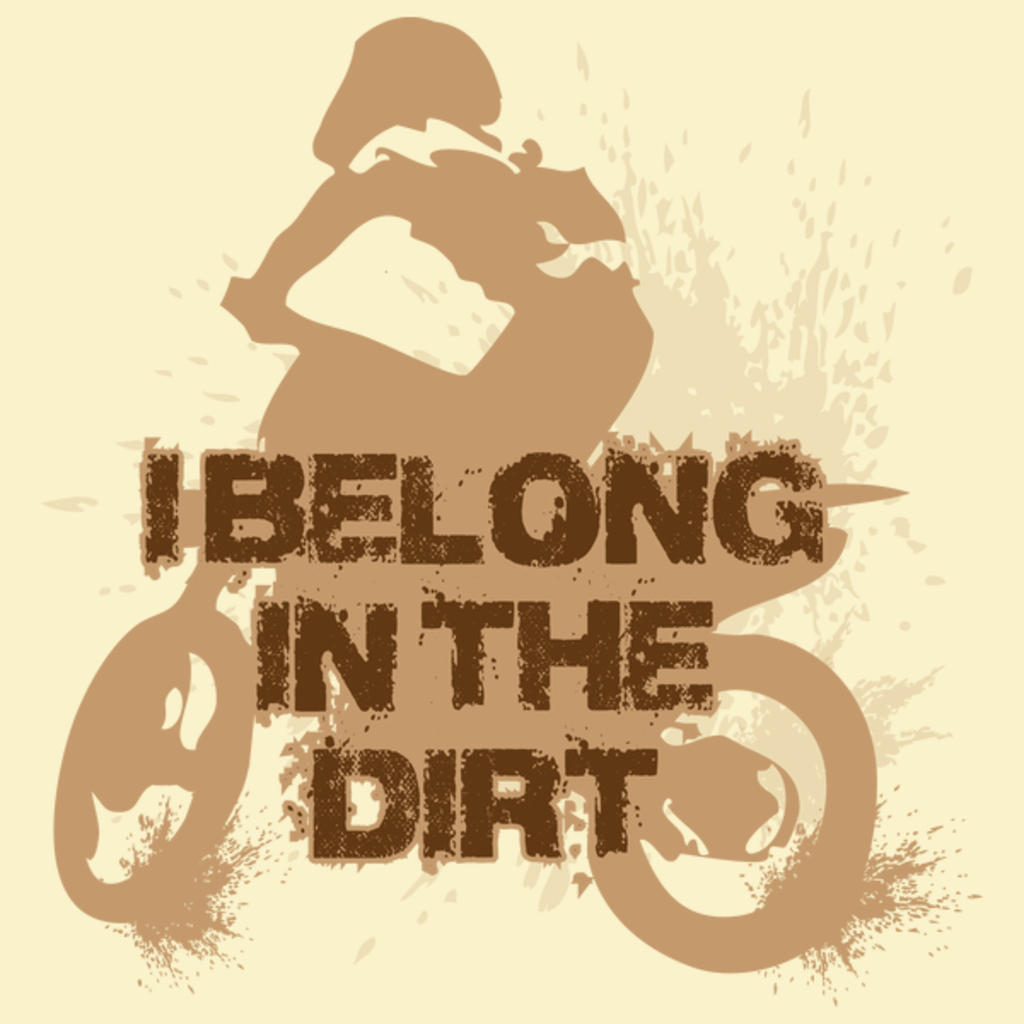 NeatoShop: I belong in the dirt