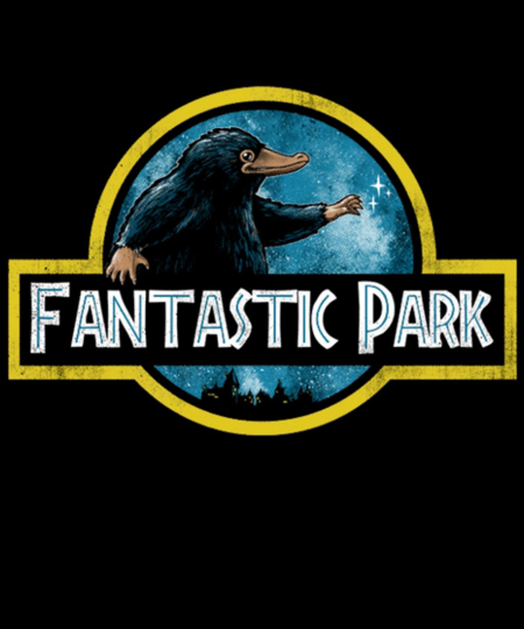 Qwertee: FANTASTIC PARK