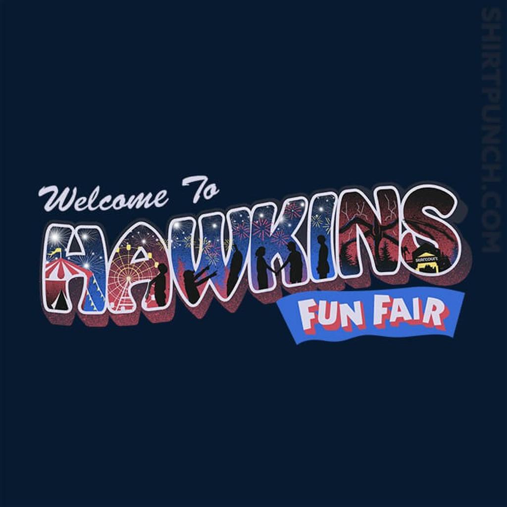 ShirtPunch: Hawkins Fun Fair