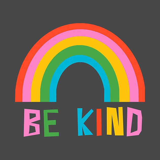 TeePublic: Be Kind Rainbow