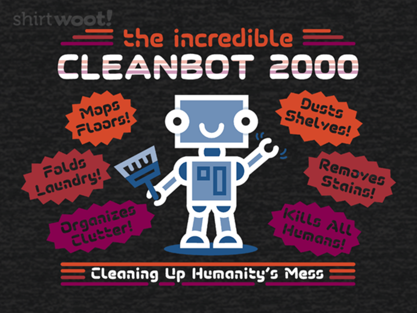 Woot!: CleanBot 2000