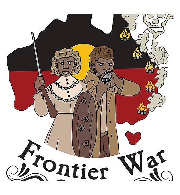 RedBubble: Frontier War Stories