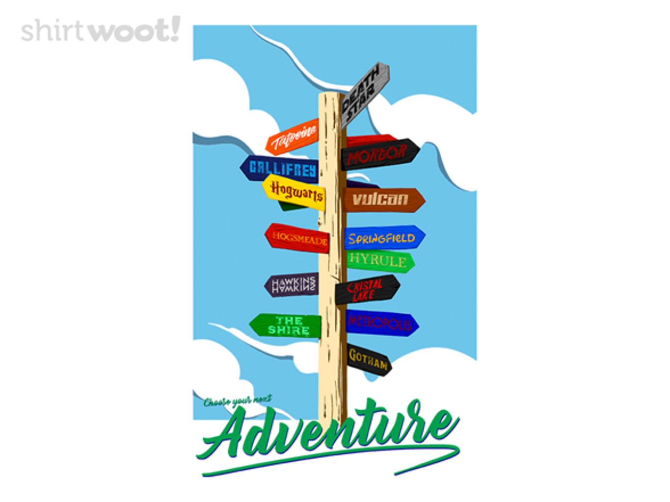 Woot!: Choose Your Next Adventure