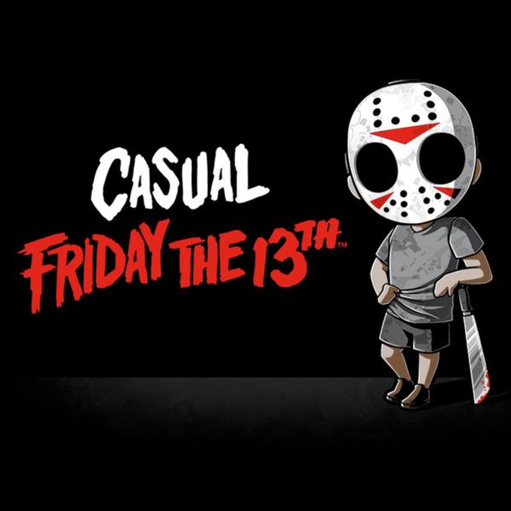 TeeTurtle: Casual Friday the 13th