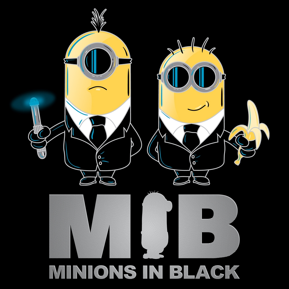 TeeTournament: Minions In Black
