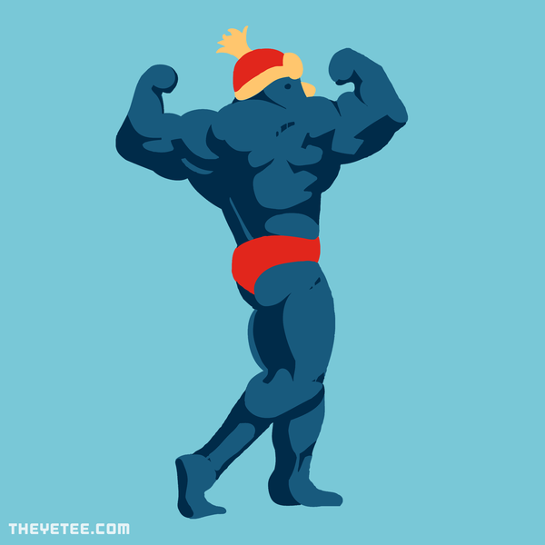 The Yetee: Flexin' On Em